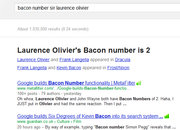 Google Bacon Number scores Danny Dyer and Sir Laurence Olivier as equals - photo 5