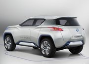 Nissan TeRRA concept car comes with removable tablet device for a dashboard - photo 4