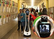 Robot takes place of sick child in US school - photo 1