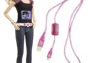 Barbie Photo Fashion Doll has hidden camera and LCD T-shirt display - photo 2