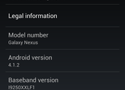 Galaxy Nexus and Nexus S Android 4.1.2 roll out begins in UK - photo 2