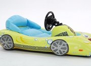 Nickelodeon Inflatable Sports Car for iPad provides turn-by-turn steering for iOS games - photo 4