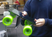 Microsoft Surface tablet used as a skateboard... by Windows president - photo 1