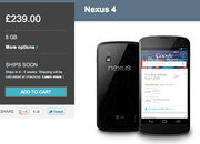 Nexus 4 available on Google Play... from 5pm today - photo 2