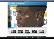 APP OF THE DAY: The Spurs Web review (iPad and iPhone) - photo 4