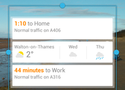 Google Search update brings Google Now widget to Android 4.1+ - photo 3
