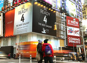 New Yorkers told to get ready for Samsung Galaxy S4 launch, signs appear above Times Square venue - photo 1
