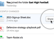 Dropbox desktop client revamped with new menu and easier file sharing - photo 2