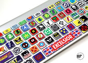 Kerpow! The Macbook Keyboard Super Hero Skin - photo 1