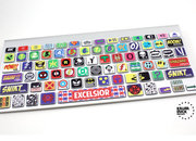 Kerpow! The Macbook Keyboard Super Hero Skin - photo 2