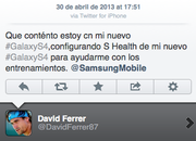 Samsung sponsored tweet mistakingly sent from iPhone - photo 2