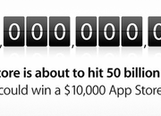 Apple begins counting down to 50bn app downloads - photo 2