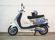 Harrods Olympus Pen Art Edition by Suzko comes with matching Vespa - photo 3