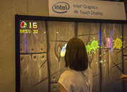 Just for fun: Fruit Ninja HD played on 84-inch touchscreen 4K TV - photo 2