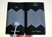 Nicholas Kirkwood Samsung Galaxy Note 3 cases: Hands-on with hypnotic chevrons - photo 3