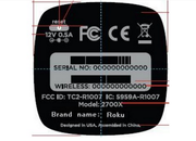 Roku 2700X streaming hub hits the FCC with entry-level specs - photo 1
