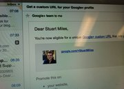Google+ vanity URLs start rolling out - photo 1