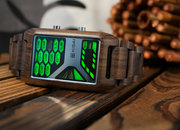 TokyoFlash Kisai Console Wood watch is one futuristic version of nature - photo 2