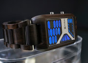 TokyoFlash Kisai Console Wood watch is one futuristic version of nature - photo 5