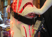 Hoping for an iPhone dock this Christmas, how about a life-size flashing Robot Girl? - photo 4