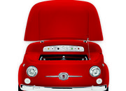Smeg launches red variant of SMEG500, a chopped up Fiat 500 fridge - photo 2