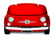 Smeg launches red variant of SMEG500, a chopped up Fiat 500 fridge - photo 3