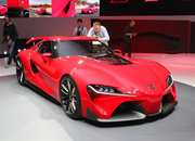 Toyota FT-1: Gran Turismo 6 concept car makes real-word appearance at Detroit show - photo 3