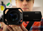 Sony FDR-AX100E: We go hands-on with the 4K HandyCam that could change TV forever - photo 3