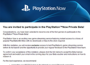 PlayStation Now beta invites start to arrive, are you one of the chosen few? - photo 2