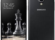 Samsung Galaxy S4 and Galaxy S4 Mini handsets in jet black with faux leather backs hit Russia first - photo 3