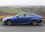 Lexus IS 300h F Sport Auto review - photo 5