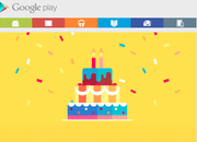 Google Play Store second birthday deals and freebies includes free Tom Hanks' Big - photo 1