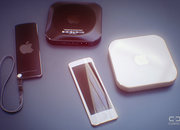 Apple TV concept takes on iPod nano-like remote with iPhone-like gold design - photo 2