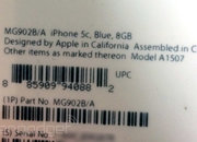 Apple 8GB iPhone 5C leaks hint at worldwide debut for this week - photo 3