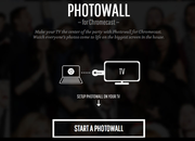 Google's Photowall for Chromecast iOS app lands with web app, letting you doodle on and cast photos to TV - photo 1