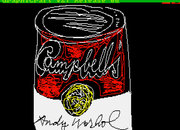 Lost Andy Warhol original artworks found on Commodore Amiga floppy disks from 1985 - photo 2