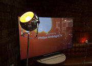 Philips Ambilight with Hue lights up the Pocket-lint Tech Tavern - photo 3