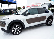 Citroen C4 Cactus in pictures: The car with air cushions for bumpers - photo 3
