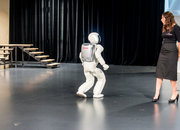 ASIMO up close: The friendly robot visits Europe, we say hello - photo 3