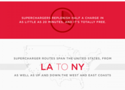Tesla maps show huge expansion of Superchargers across the world by next year - photo 4