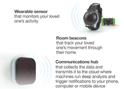 Tempo is a 3-piece smartwatch system just for seniors, monitors daily patterns - photo 3