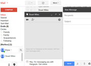 Gmail adds Hangouts tab so you can message friends and email at the same time - photo 1