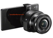 Sony QX1 smartphone mount leak hints at interchangeable lenses, and is that an Xperia Z3 in shot? - photo 4