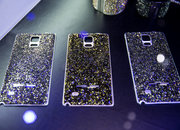 Samsung Gear S Strap and blinged Galaxy Note 4 rear shells: Swarovski in the house - photo 3