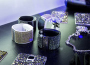 Samsung Gear S Strap and blinged Galaxy Note 4 rear shells: Swarovski in the house - photo 4