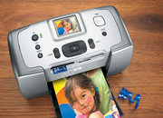 HP Photosmart 245 compact photo printer - photo 2