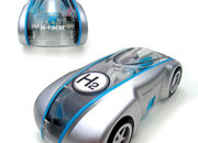H-racer hydrogen car - photo 2