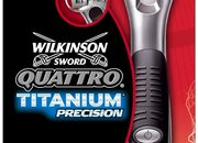 Wilkinson Sword Quattro Titanium Precision razor - photo 2
