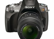 Sony Alpha A380 DSLR camera  - photo 2
