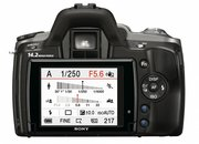 Sony Alpha A380 DSLR camera  - photo 3